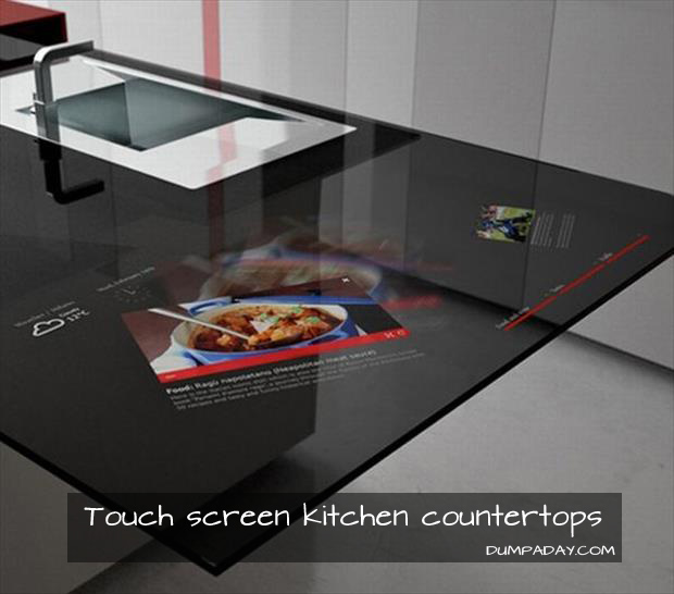 a Touch Screen Kitchen Countertops
