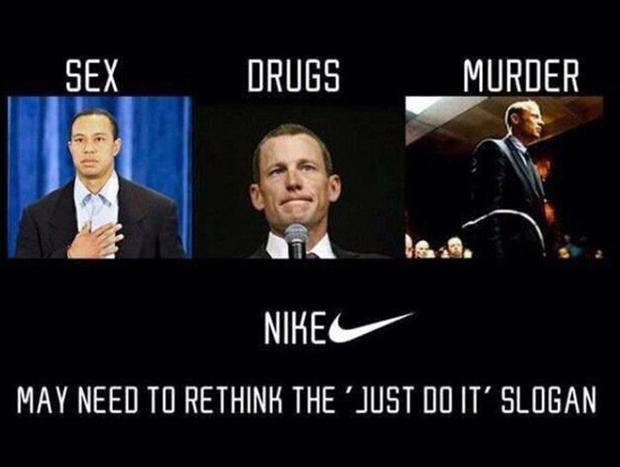 a funny nike slogan just do it