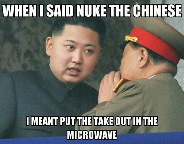 a funny north korea nuke