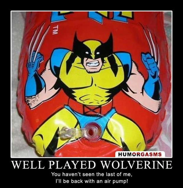 a well played wolverine
