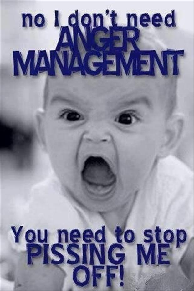baby needs anger management