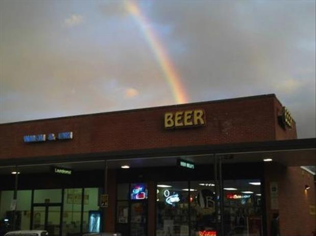 beer rainbows