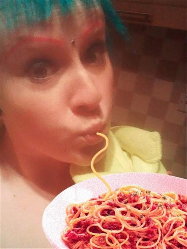 duck face fixed with spaghetti, dumpaday (16)
