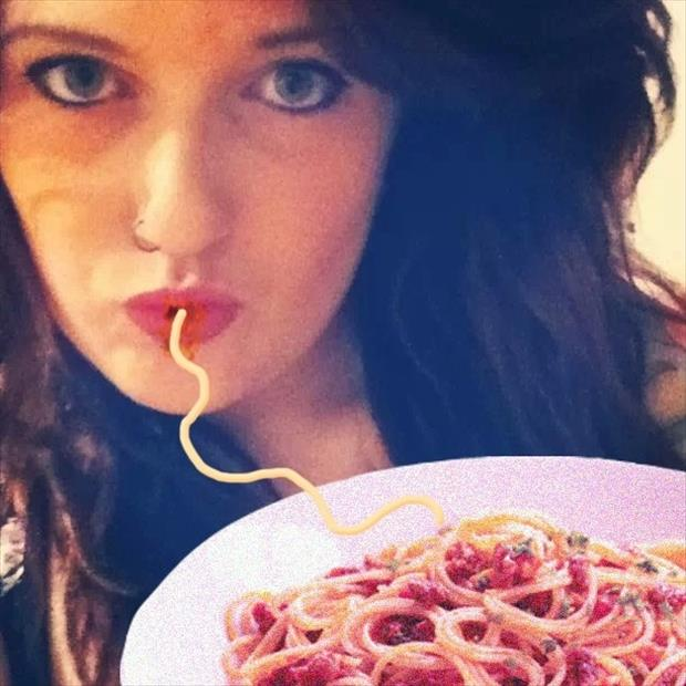 duck face fixed with spaghetti, dumpaday (17)