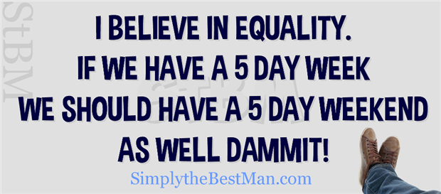 equality funny quotes