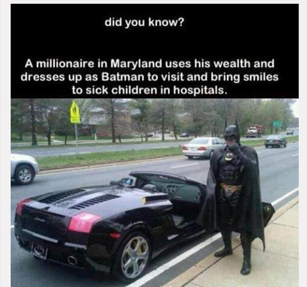 faith in humanity restored batman