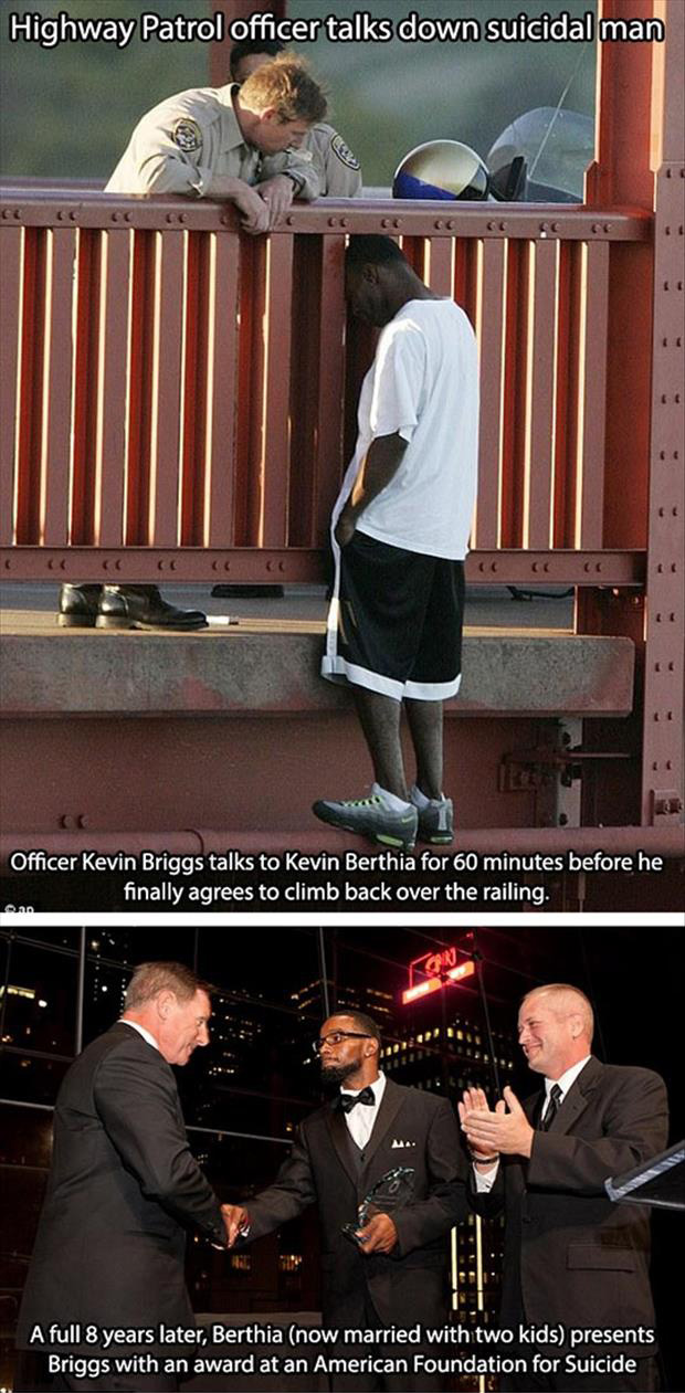 faith in humanity restored police officer