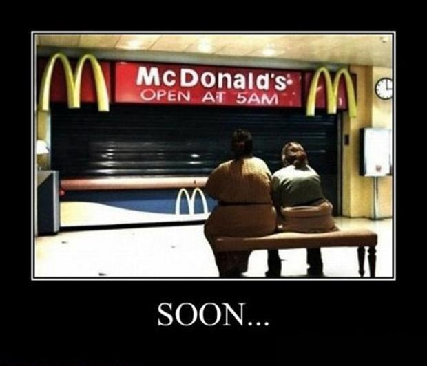 fat women at mcdonalds soon meme
