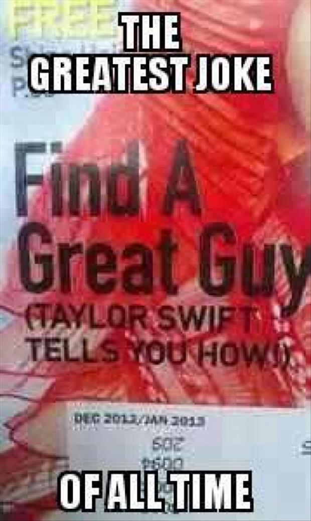 find a great guy taylor swift