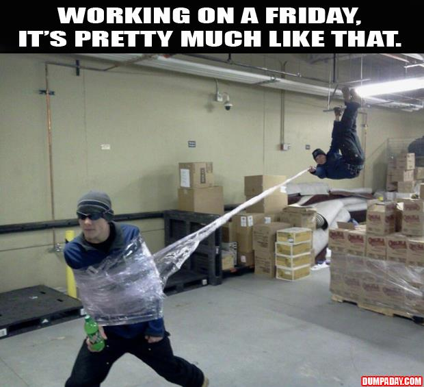 friday at work