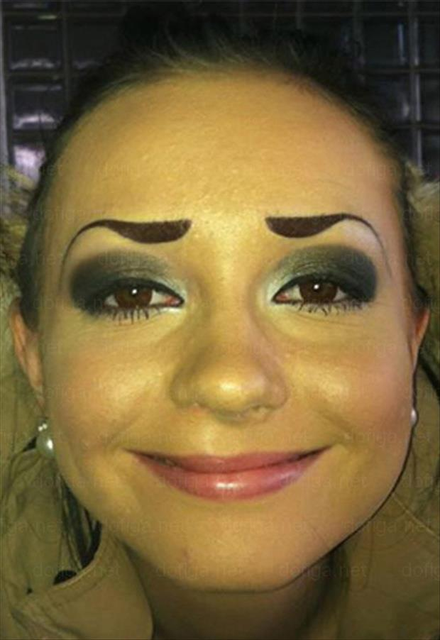 funny eyebrows, dumpaday (14)