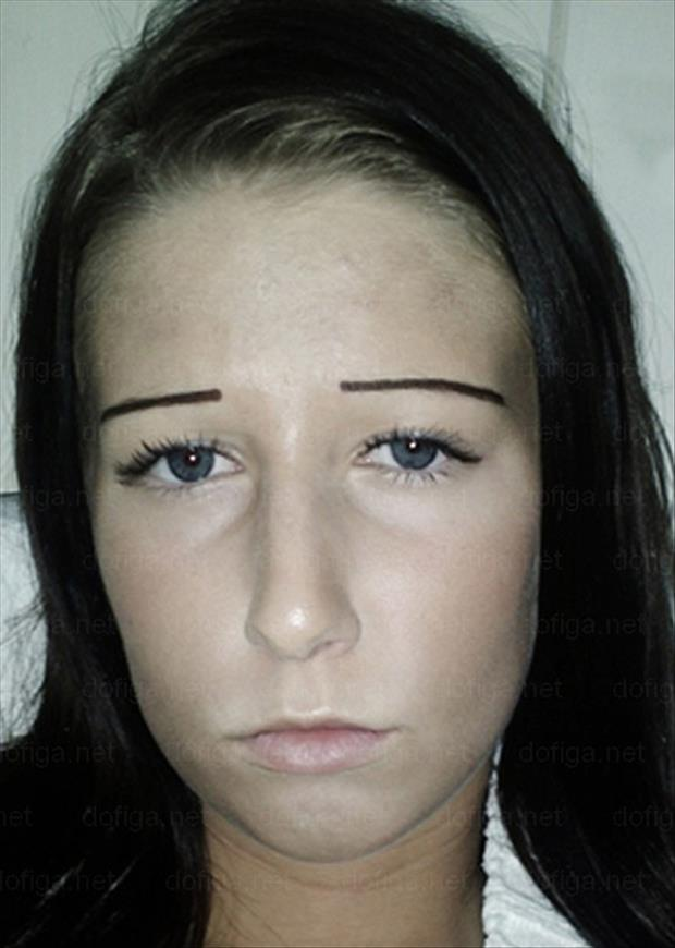 funny eyebrows, dumpaday (19)