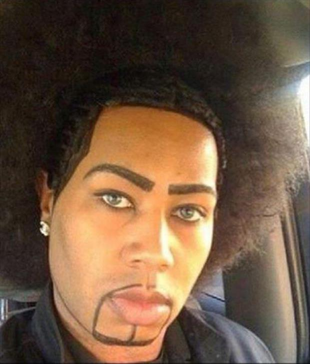 funny eyebrows, dumpaday (23)