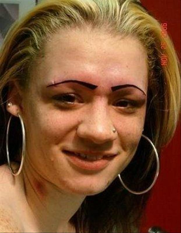 funny eyebrows, dumpaday (5)