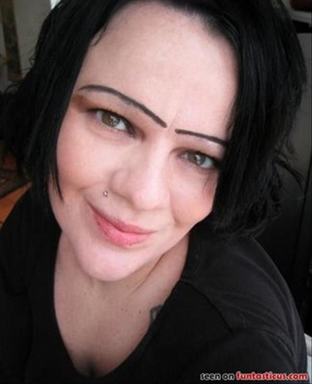 funny eyebrows, dumpaday (9)