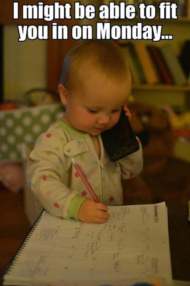 funny pictures kids on cell phones