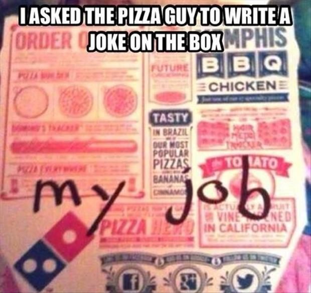 funny pizza boxes