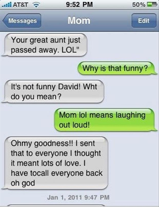 Dump A Day The Funniest Texts From Mom Ever - 25 Pics
