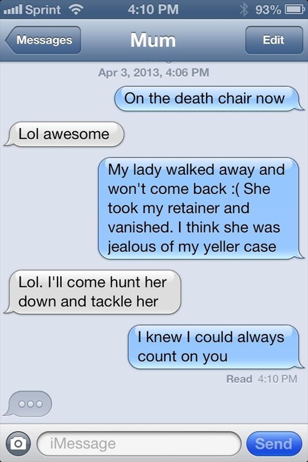 The funniest texts from mom ever 25 pics