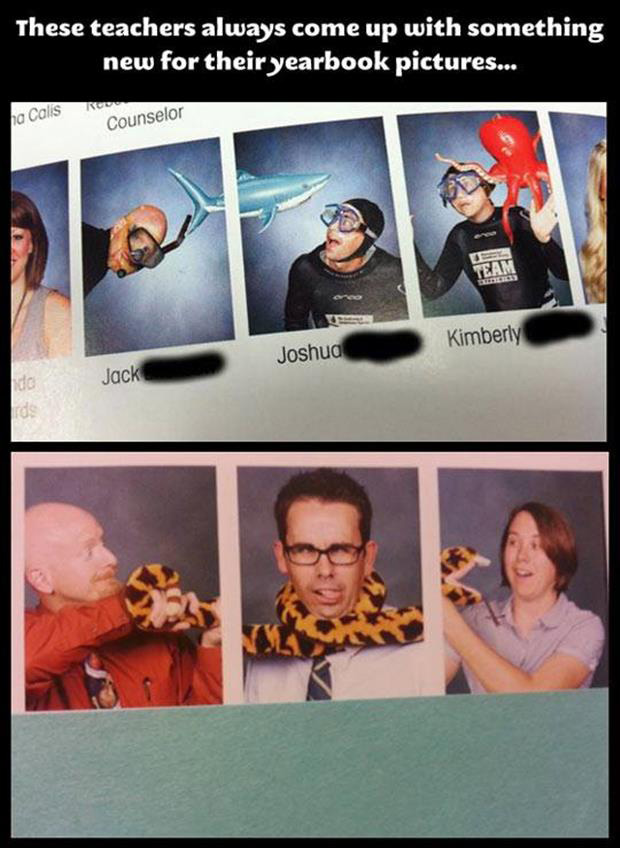 funny year book pictures