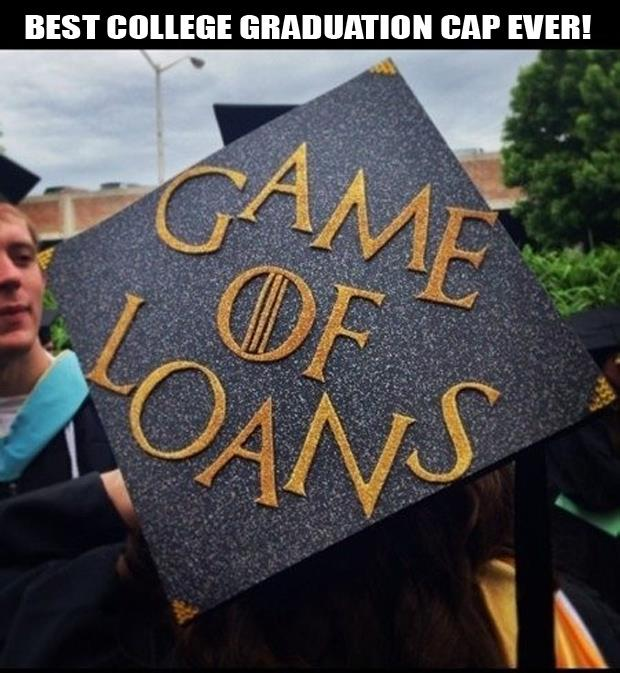 game of thrones funny graduation pictures