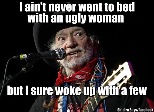 go to bed with an ugly woman