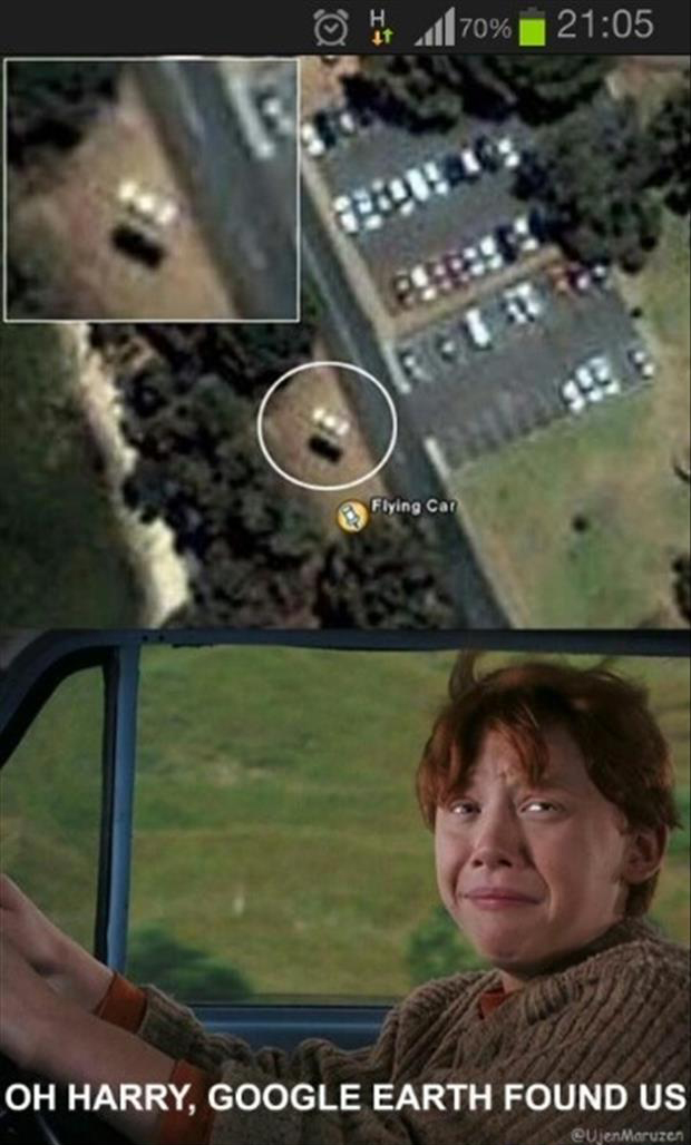 google earth found you