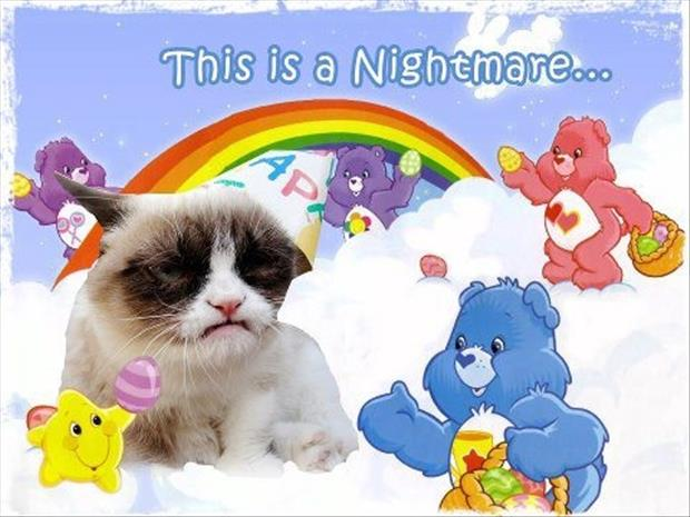 grumpy cat nightmares