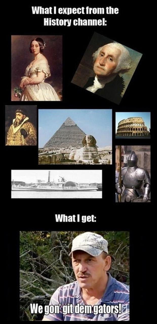 history channel shows