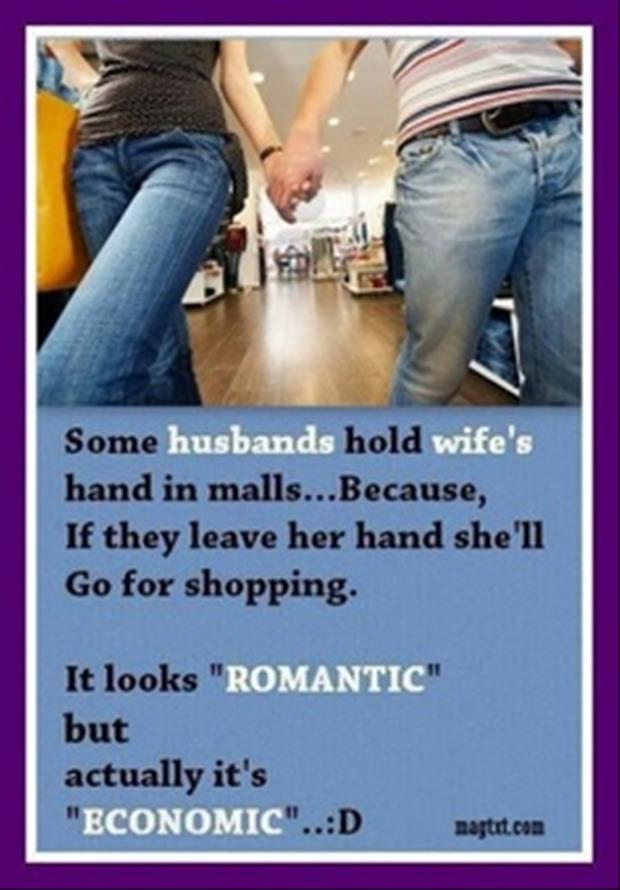 holding your wifes hand