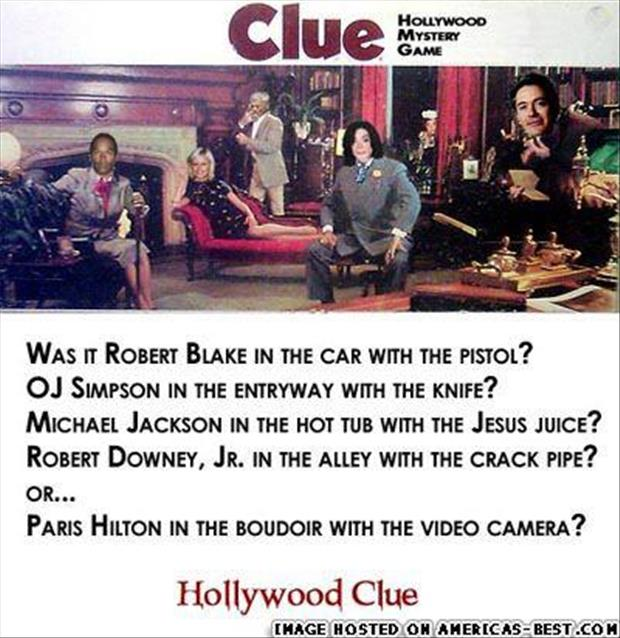 hollywood clue