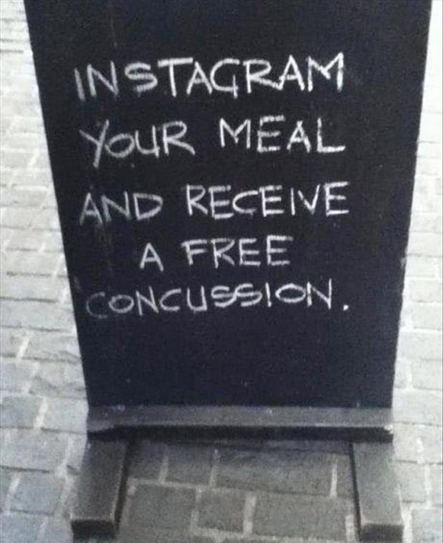 instagram your food