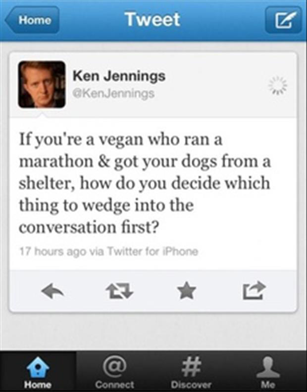 ken jennings funny twitter quotes - Dump A Day