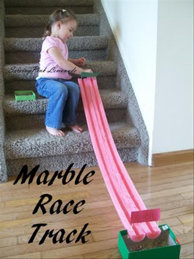 marble race track