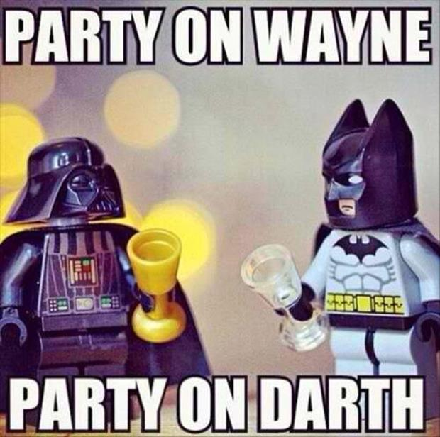 party on wayne party on darth