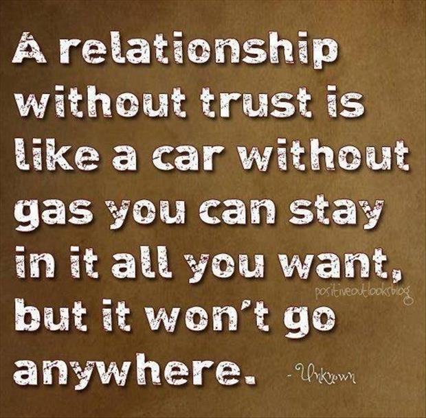 Funny Quotes On Love And Trust : relationship without trust funny quotes - Dump A Day