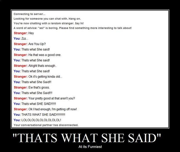 that's what she said, funny memes (3)