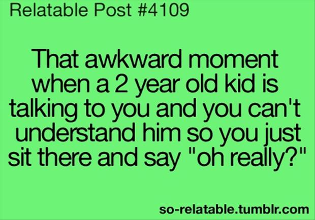 the awkward moments