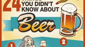 24 Things You Didn't Know About Beer! – Infographic