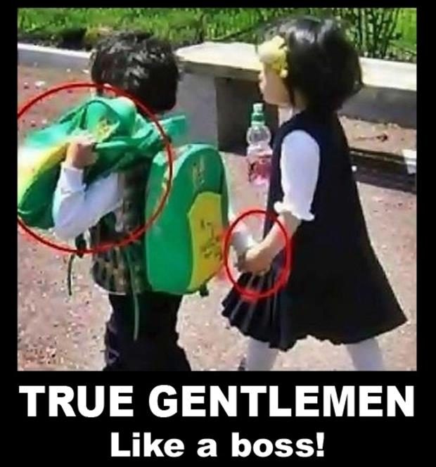 true gentleman, like a boss