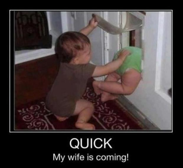 wife is coming