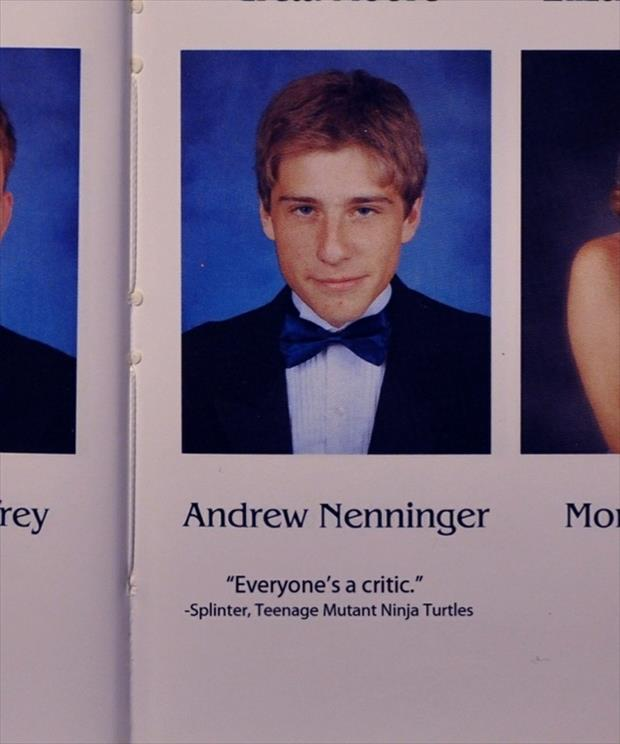 Famous Yearbook Quotes: Funny Yearbook Quotes From Seniors