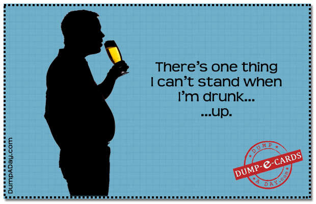 Can't stand Dump E-card