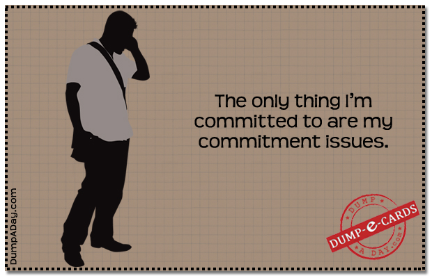 Committed to Dump E-card