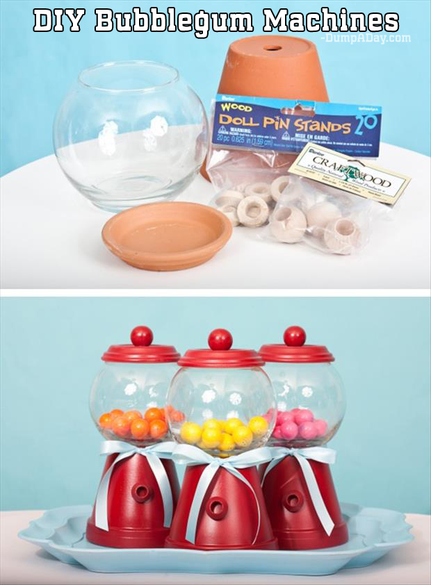 DIY Bubblegum Machines