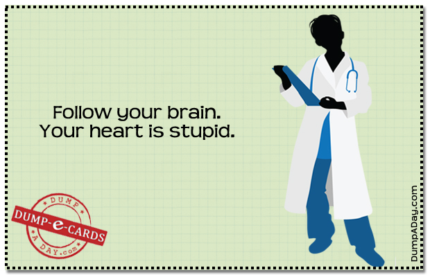 Follow Your Brain Dump E-card