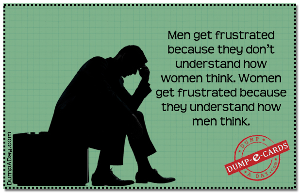 Frustrated Dump E-card
