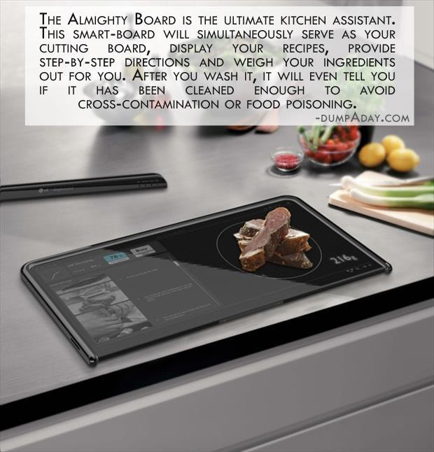 Geek Genius Ideas- amazing cutting board