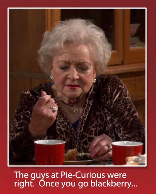 I love betty white