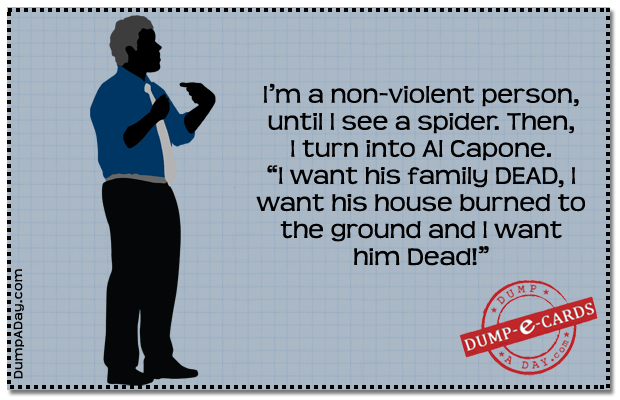 Non-violent person Dump E-card